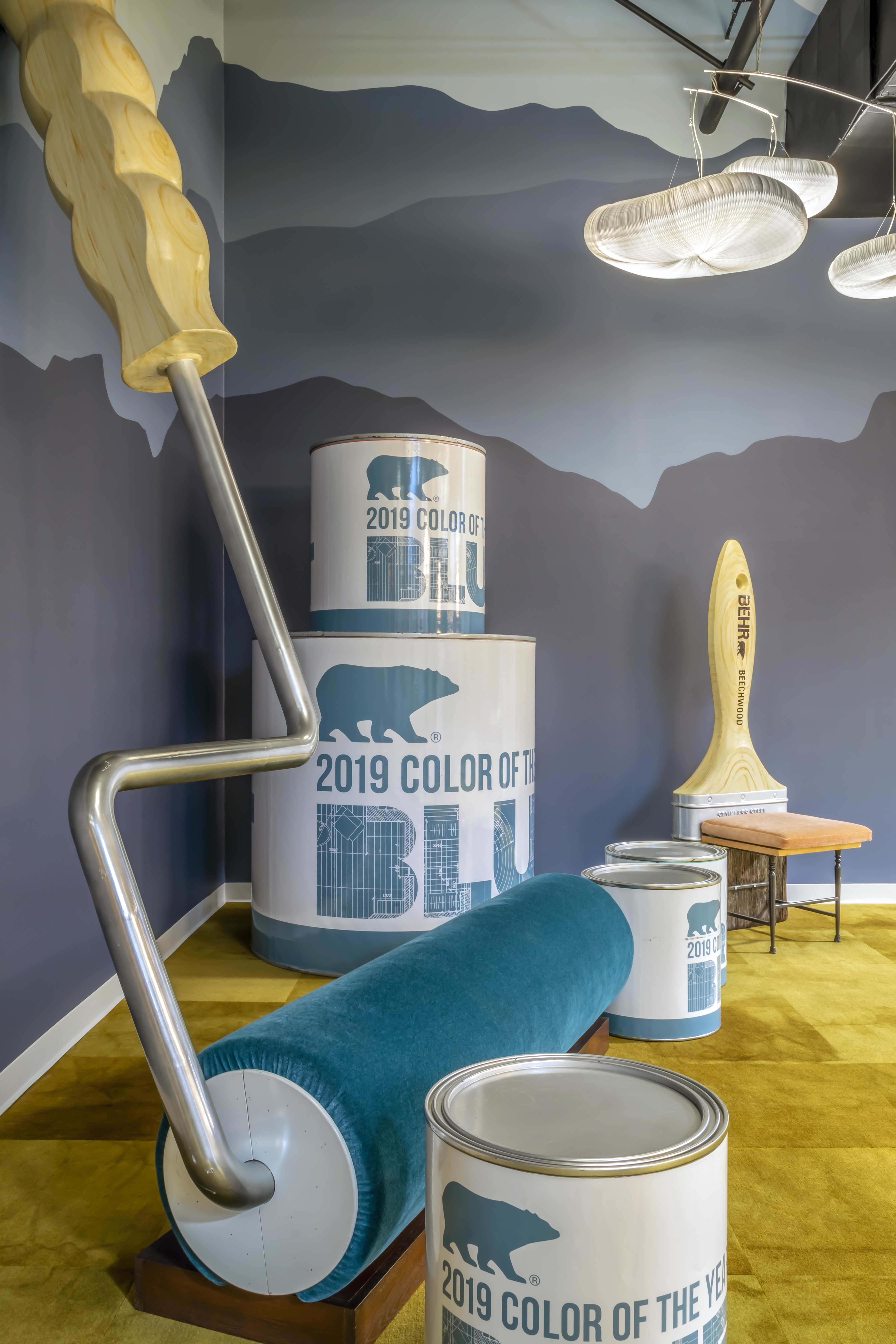 Project Profile Behr Paint: Hendy Associates Give Behr Paint Company A Branded-Office Environment that Unites Employees
